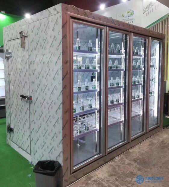 濟南后補式玻璃門冷庫